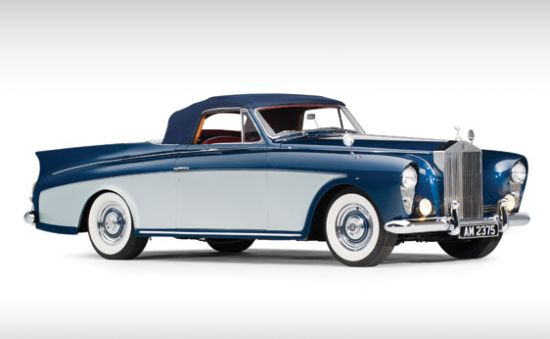 1958 Rolls Royce Silver Cloud I 'Honeymoon Express' Drophead Coupe