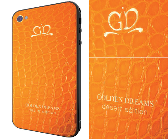 Golden Dreams Desert edition in orange