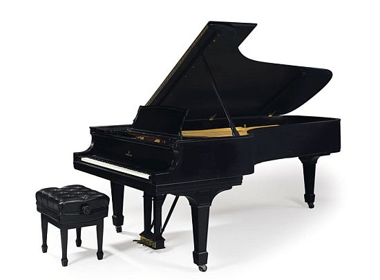 Steinway Model D Ebonized Concert Grand Piano