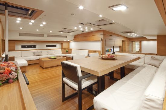 The interiors of Thalima
