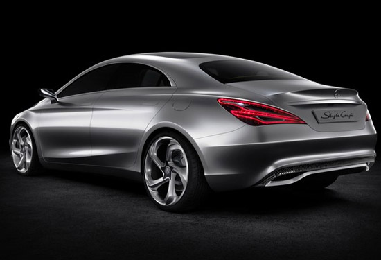 Mercedes Benz Concept Style coupe rear view