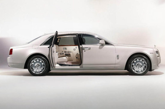 Rolls Royce Ghost Six Senses edition