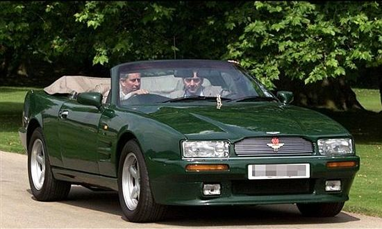 1994 Aston Martin Volante owned by Prince Charles
