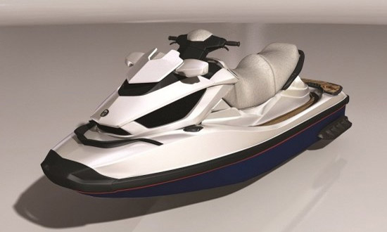 Venom Design black and white jet ski