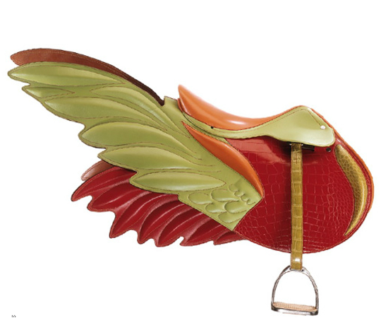 The satyr-winged saddle bag