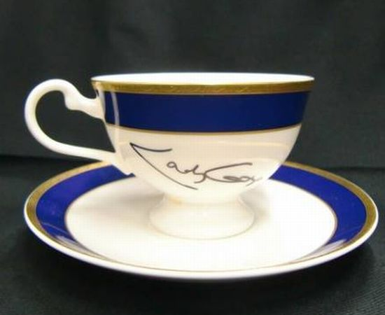 Gaga signed cup