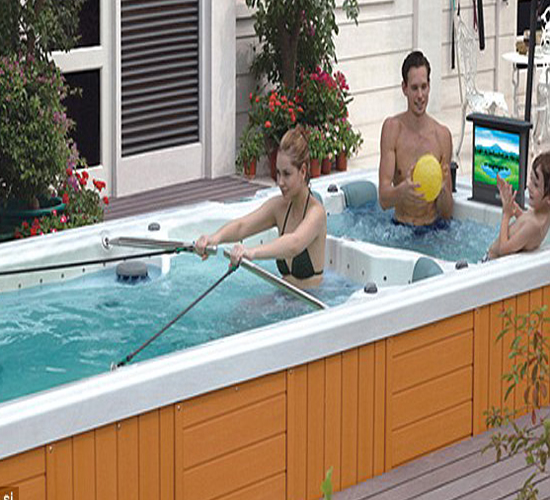 It's a great combination where hydrotherapy and entertainment marry to give you the best in luxury