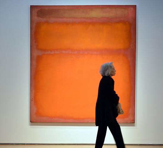 "Marc Rothko's ""Orange, Red, Yellow"""