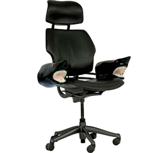 Makoman Boss' Ergonomic chair