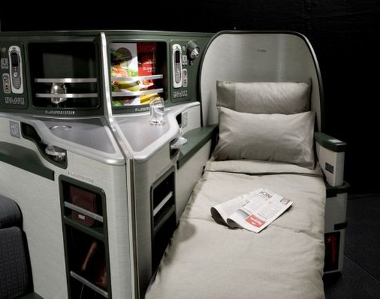 EVA Air's New Flat-Bed Business Class Seats
