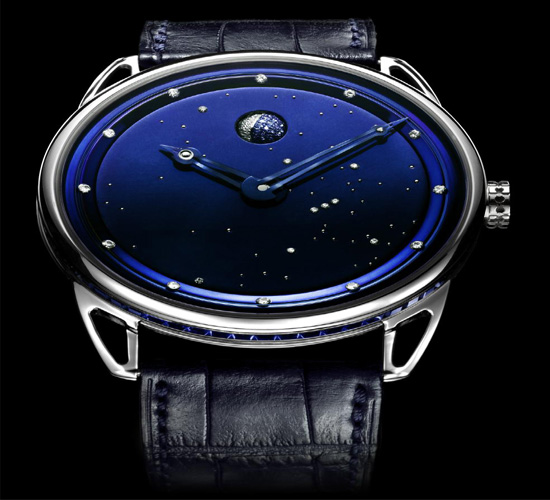 The latest De Bethune DB25 watch with a feminine touch