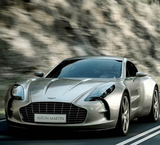 The Aston Martin's Supercar One-77