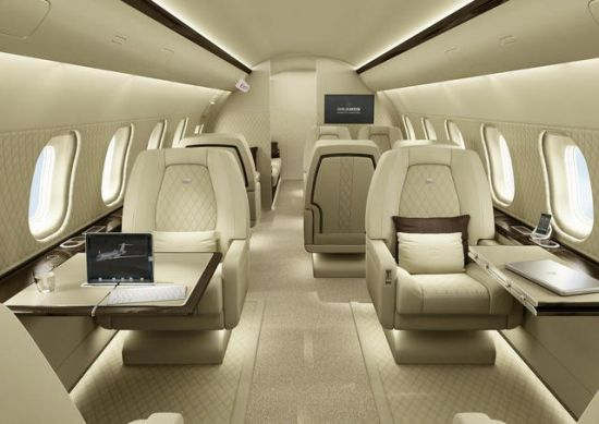 VIP and Executive Jets Interior