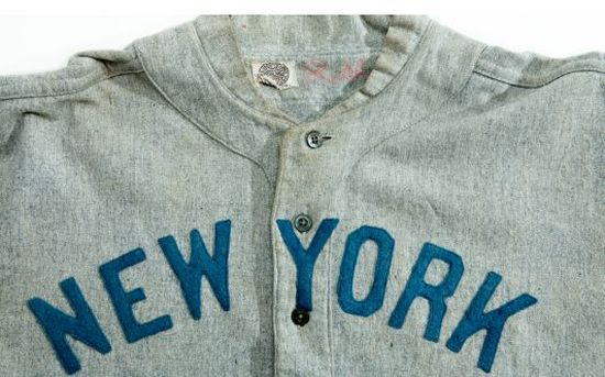 Babe Ruth 1920s Yankees Jersey