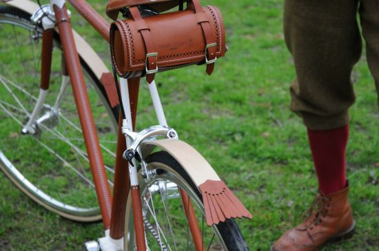 One-off luxury bicycle by jeweller Nicholas James