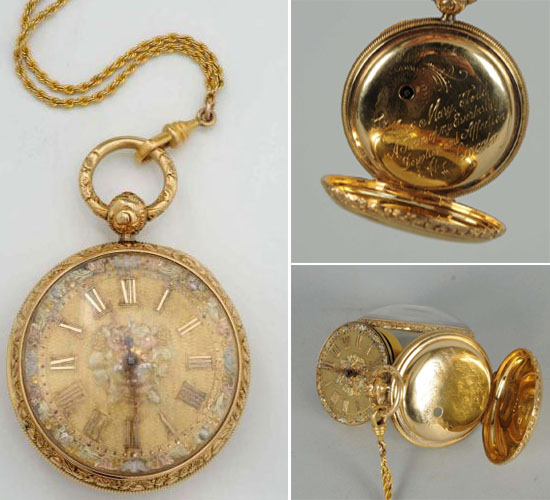 A Watch from Abraham Lincoln's personal collection goes on auction