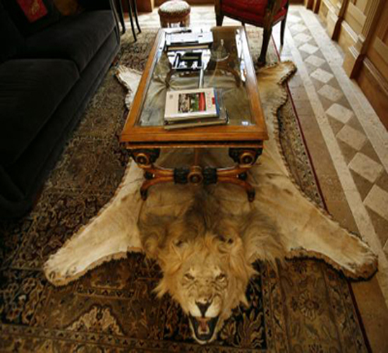 Barring few, most of the furniture pieces were sold off following Gianni's untimely death