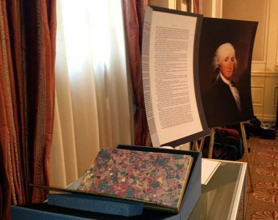 Christie's to auction George Washington's personal Constitution for $3 million