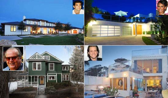Celebrity Homes for sale 2012