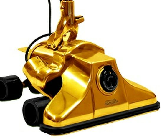 24k Gold Plated Million Dollar Vacuum Cleaner is the World's most expensive