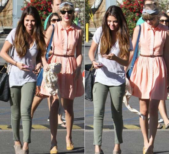 Selena Gomez and Taylor Swift for girly catch-up in Malibu