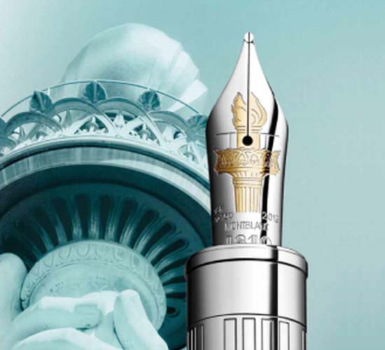 Montblanc Limited Edition Pen honours the Statue of Liberty