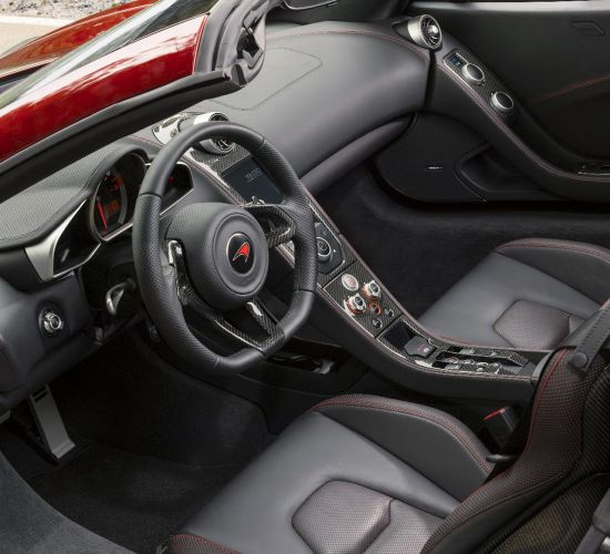 2013 McLaren MP4-12C Spider interiors