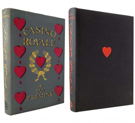 First Edition of Casino Royale Book costs $78,000