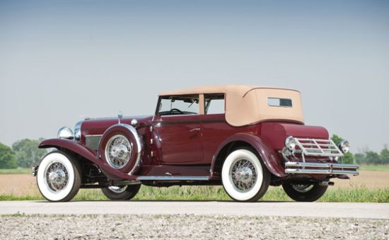 1930 Duesenberg Model SJ Convertible Victoria by the Rollston Company