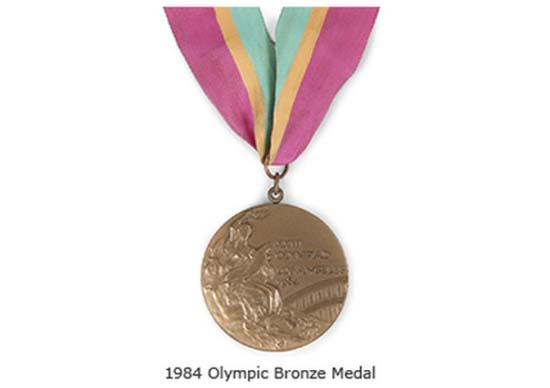 Holyfield's Olympic Bronze Medal 1984