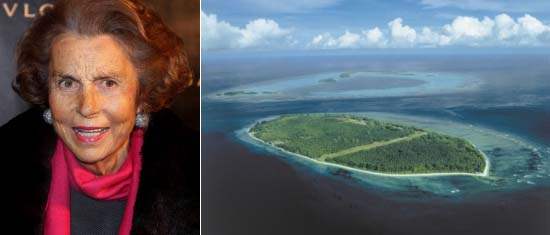 L'Oréal heiress Bettencourt sells her D'Arros Island in Seychelles for $60 million