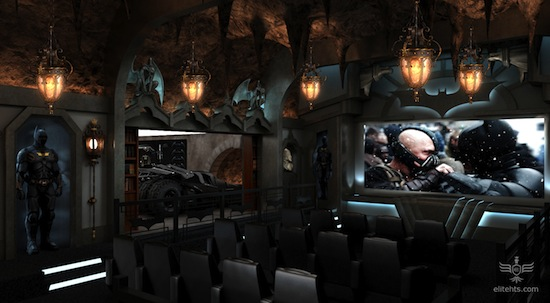 Dark Knight Home theater