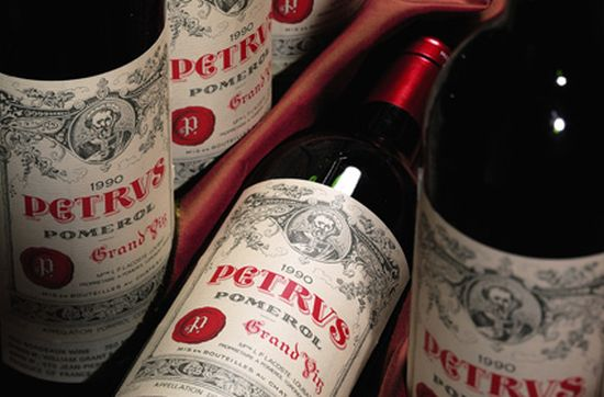 Chateau Petrus named king of wine investments
