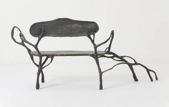 $4,800 twig-inspired bench is one of a kind eco friendly furniture for the rich
