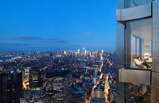Frank Gehry's New York penthouse