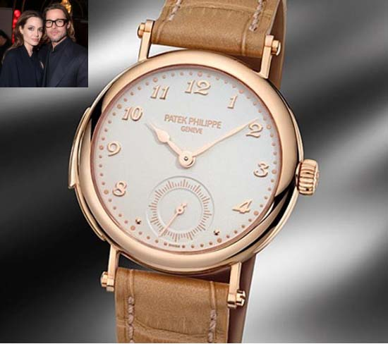 Brad Pitt gets a $391,040 watch for Angelina Jolie