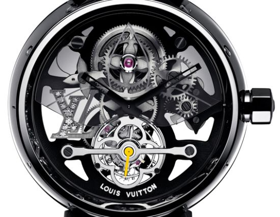 Louis Vuitton shows its horological skills with Tambour Monogram Tourbillon