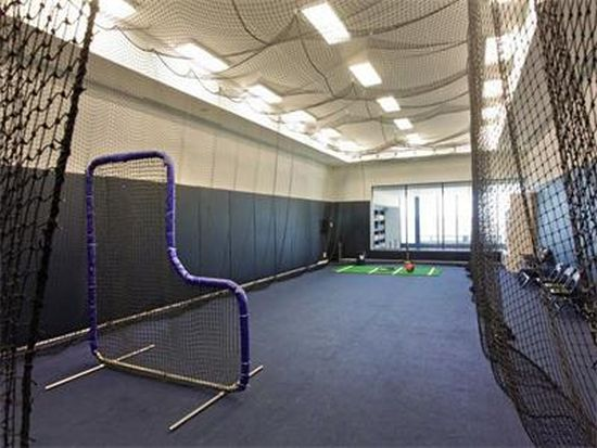 Alex Rodriguez Miami Home with batting cage