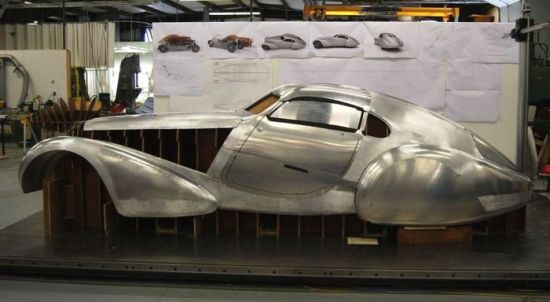 Jean Bugatti's unfinished 1939 Type 64 Coupe masterpiece