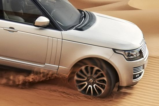 The new 2013 Land Rover Range Rover will be made available in over 160 worldwide markets