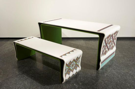 Yaroslav Galant furniture at Milan Design Week