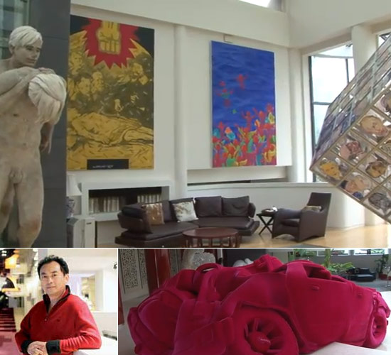 Zhang Rui art collection