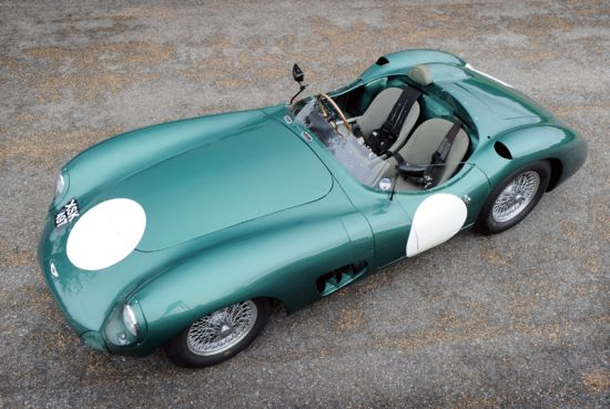 Le Mans winning race car Aston Martin DBR 1/2  estimated to sell for  $31.76 Million at Talacrest sale