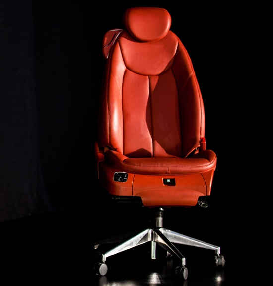 Driver's seat office chair