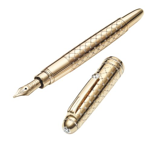 The Montblanc Meisterstück Mozart Jewellery Fountain pens