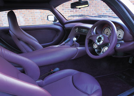 TVR Cerbera Speed 12 Interior