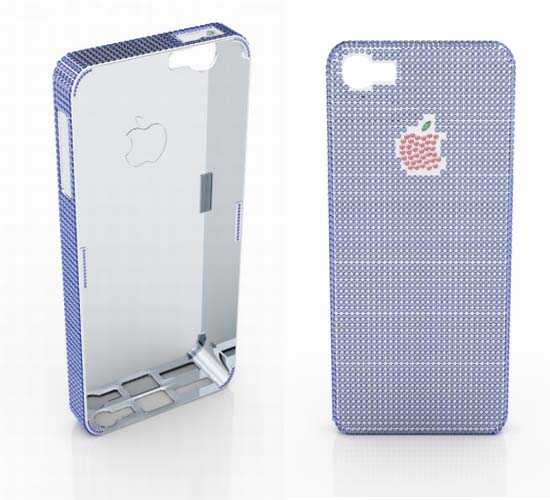 World's most expensive iPhone 5 case for $100,000 features natural sapphires and rubies
