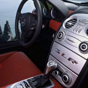 Previous Image Next Image Mercedes SLR McLaren Interior