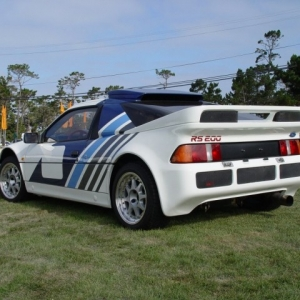 Ford RS200 Exterior