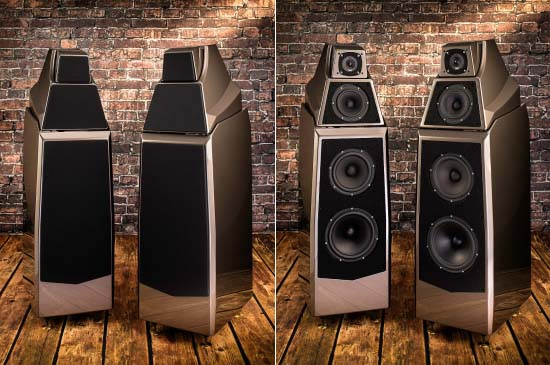 Wilson Audio's all-new Alexia is a beautiful form born of a complex function